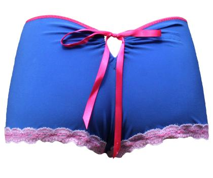 Shirley Blue Knickers back